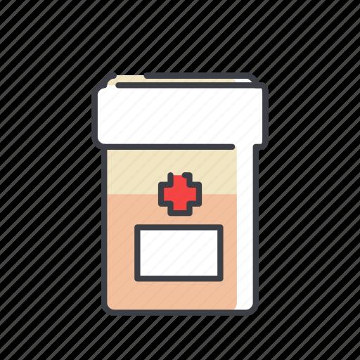 bottle, clinic, drug, hospital, medicine, treatment icon