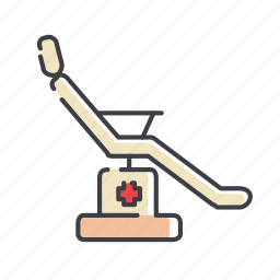 chair, dining, interior, office, seat, table icon