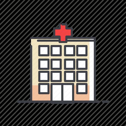 ambulance, care, clinic, emergency, hospital, treatment icon