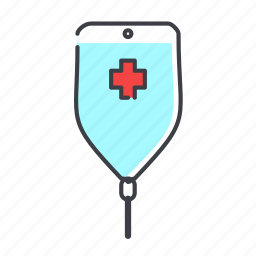 clinic, doctor, drug, hospital, infusion, medicine icon