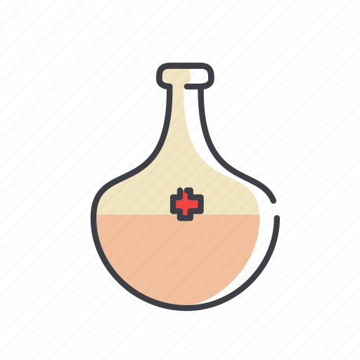 alcohol, bottle, health, healthy, medicine, potion icon