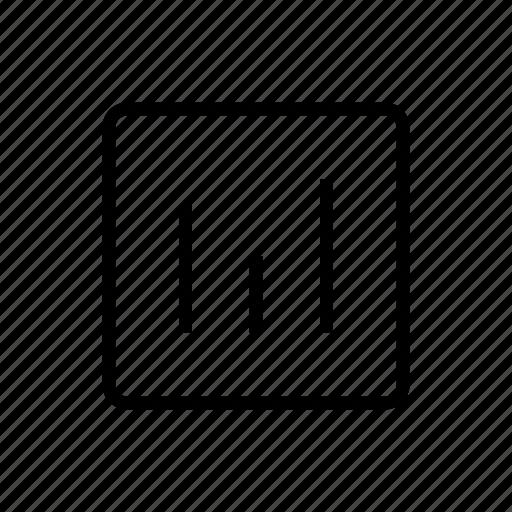 chart, media, statistics, type icon