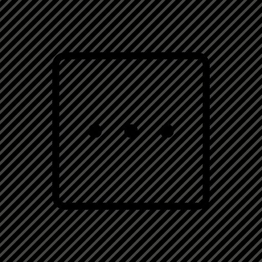 media, misc, more, type icon