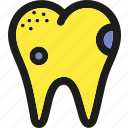 dental, health, healthcare, medical, medicine, teeth, unhealthy icon