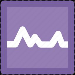 ecg, electrocardiogram, heartbeat, heartbeat screen, lifeline, pulsation, pulse, pulse rate icon