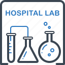 chemistry, hospital, lab, laboratory, science icon