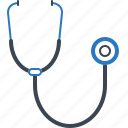 checkup, health, healthcare, stethoscope icon