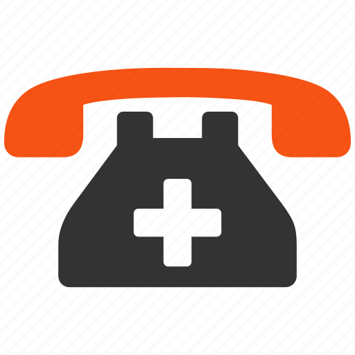 call center, clinic, emergency, medical, phone, service, telephone icon