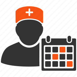 appointment, diary, grid, medic, medical, schedule, time table icon
