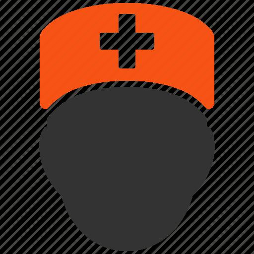 doctor head, face, healthcare, medical, medicine, person, user icon