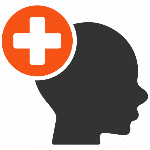 add, cross, head, medical, medicine, plus, treatment icon