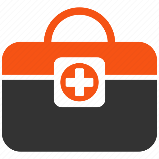 baggage, doctor, emergency, first aid, help, medical service, medicine icon
