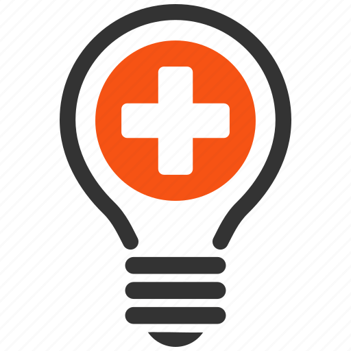 electric, electricity, health care, light bulb, medical, medicine, tip of the day icon