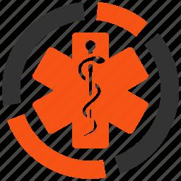 graph, health, healthcare diagram, hospital report, infographic, medicine, statistics icon