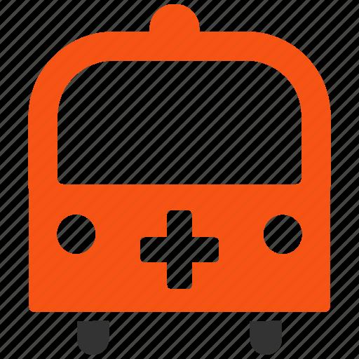 ambulance, emergency car, hospital transport, medical bus, medicine, transportation, vehicle icon