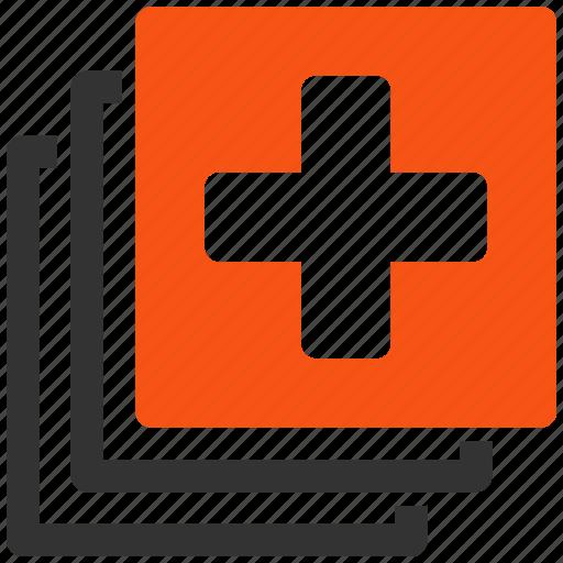 doctor, documents, files, health care, healthcare, medical cross, medicine icon