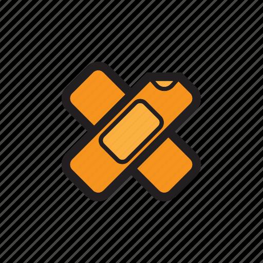 Medical, bandage, injury, wound, wound bandage icon - Download on Iconfinder