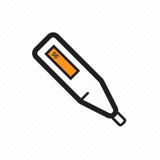 medical, temperature, thermometer icon