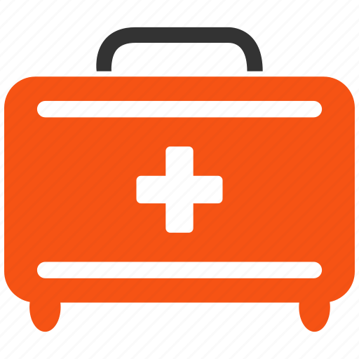 emergency, first aid, health, help, medical, medicine, toolkit icon