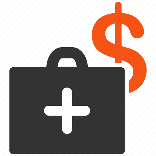 ambulance, deposit, doctor, fund, medicine, money bags, savings icon