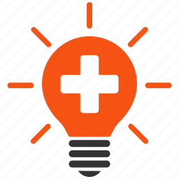 electric lamp, electricity, health care, light bulb, lightbulb, medical, medicine icon