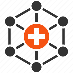 health care, healthcare, hospital, medicine, network, pharmacy, system icon