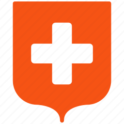 ambulance, doctor, emergency, health care, hospital, medical shield, safety icon