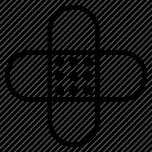 aid, plaster icon