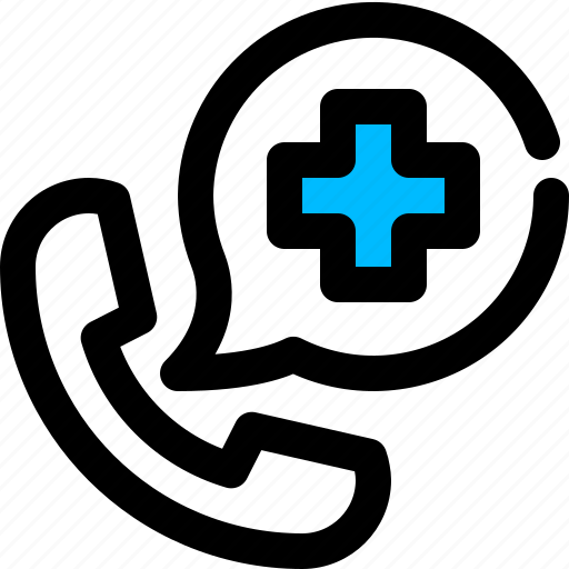 Call, doctor, medical assistance, medical help icon - Download on Iconfinder