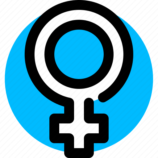 Female, gender, sign, woman icon - Download on Iconfinder