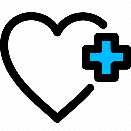 care, heart, medical, pulse icon