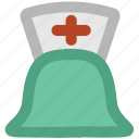 medical assistant, nurse, nurse cap, nurse clothing, nurse hat, nurse uniform icon