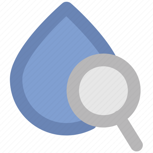 find blood, magnifier, magnifying glass, search blood, search tool, searching, zoom icon
