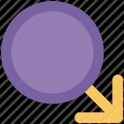 gender symbol, lady, male, male gender, man, sex symbol icon