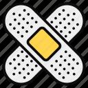 adhesive, band aid, bandage, patch, plaster