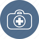 ambulance, cross, hospital, medical, medicine, suitcase, valise icon