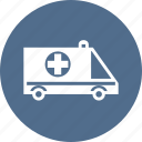 ambulance, car, care, cross, hospital, medical, medicine icon