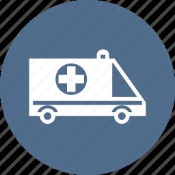 ambulance, car, care, cross, hospital, medical, medicine icon
