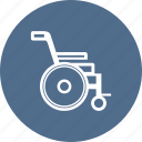 ambulance, care, hospital, medical, medicine, wheelchair icon