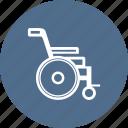 ambulance, care, hospital, medical, medicine, wheelchair icon