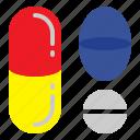 drugs, medical, medicines, pills icon