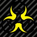 biohazard, infection, medical, virus icon