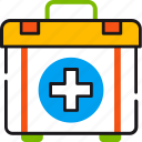 ambulance, first aid, help, kit, medical, medicine, treatment icon