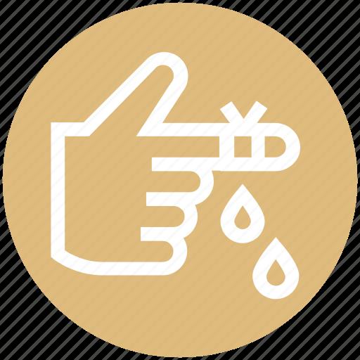 Bandage, blood, hand, health, injury, medical icon - Download on Iconfinder
