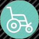armchair, handicap, hospital, medical, wheel chair