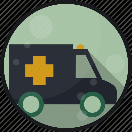 ambulance, emergency, er, hospital icon