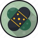 aid, bandages, injury, patch icon