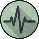 activity, cardio, ekg, heartbeat, monitor, pulse icon