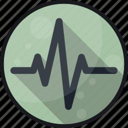 activity, cardio, ekg, heartbeat, monitor, pulse icon