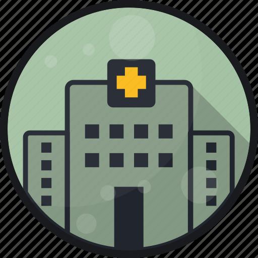building, clinic, emergeny, hospital, practice icon